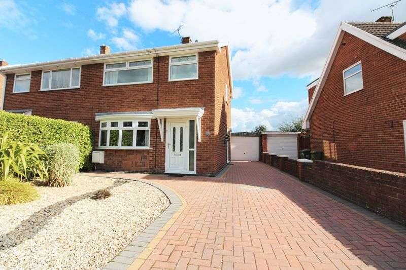 3 Bedrooms Semi Detached House for sale in Pine Close, Wrexham