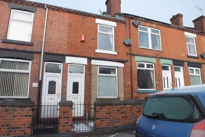 2 Bedrooms Terraced House for sale in Hamil Road, Burslem, Stoke-On-Trent