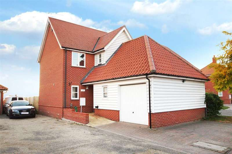 4 Bedrooms Detached House for sale in Old School House, Old School Close, Spring Road, St. Osyth