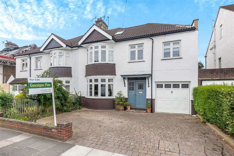 5 Bedrooms Semi Detached House for sale in Poulett Gardens, Twickenham, TW1
