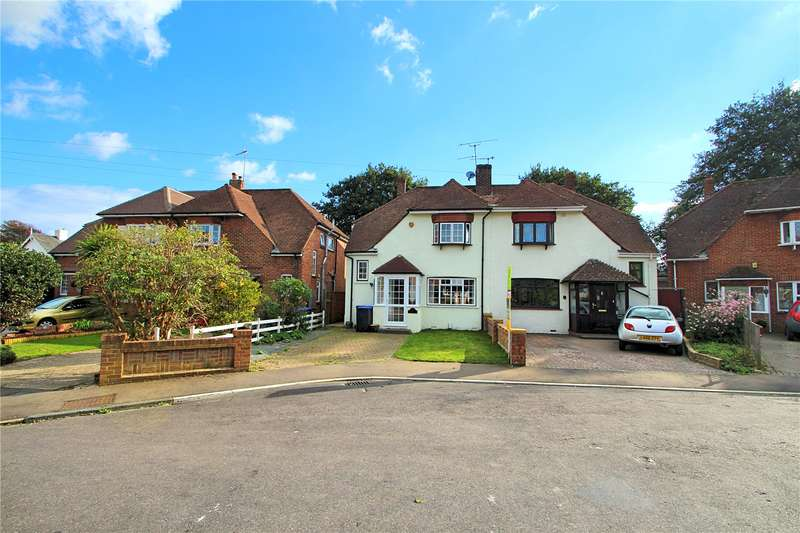3 Bedrooms Semi Detached House for sale in Priory Close, Tarring, Worthing, BN14