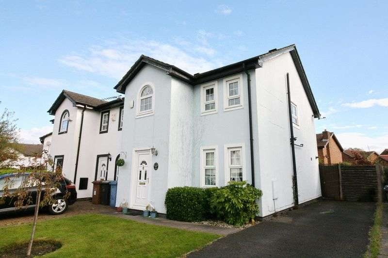 3 Bedrooms Semi Detached House for sale in Stonechat Close, Ellenbrook Worsley Manchester