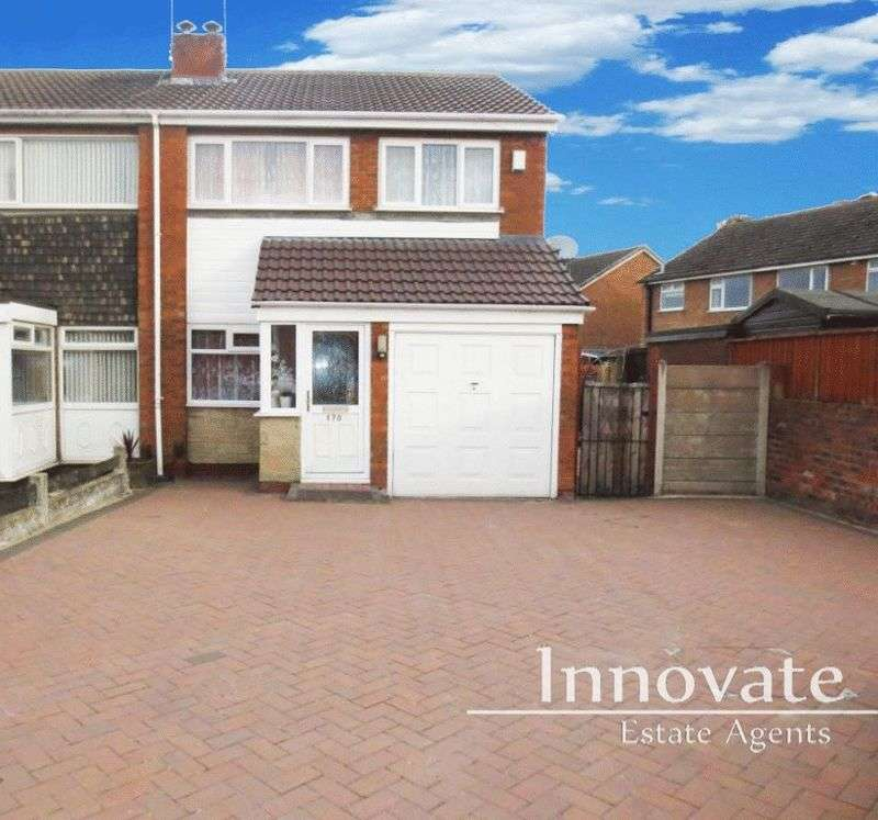 3 Bedrooms Semi Detached House for sale in Oldbury Road, Rowley Regis