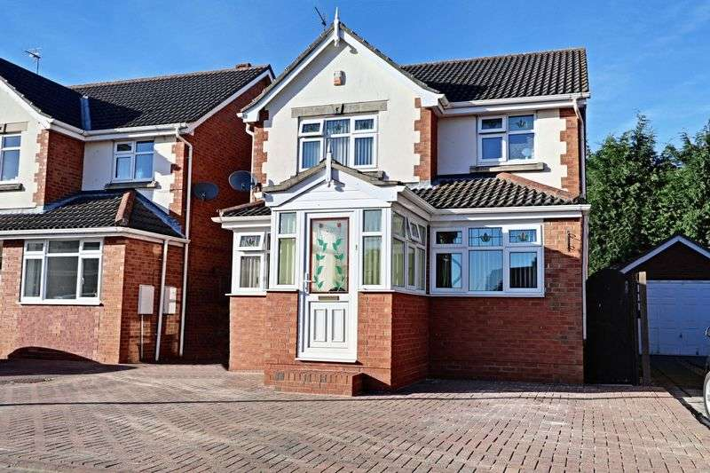 4 Bedrooms Detached House for sale in Cherry Tree Close, Bilton