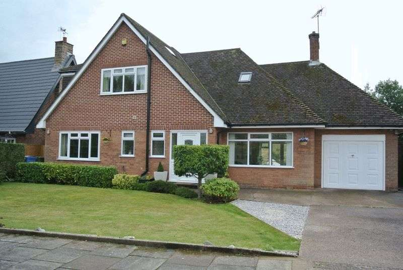 4 Bedrooms Detached House for sale in Chatsworth Close, Mansfield