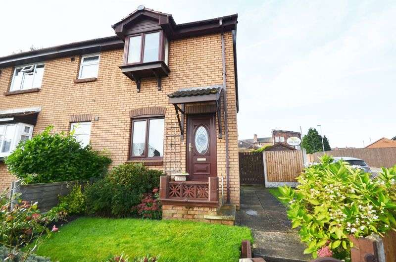2 Bedrooms Semi Detached House for sale in Manor Farm Road, Crigglestone, Wakefield, WF4