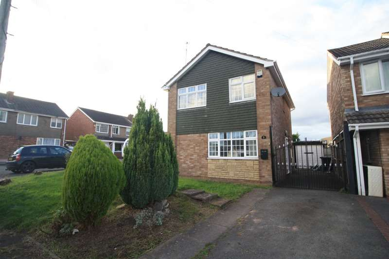 3 Bedrooms Detached House for sale in Broomfield Rise, Nuneaton, Warwickshire, CV10