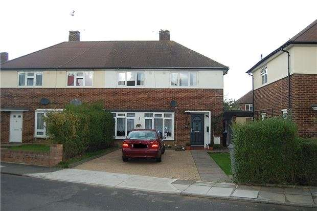3 Bedrooms Semi Detached House for sale in Laburnum Grove, KINGSBURY, NW9 8QT