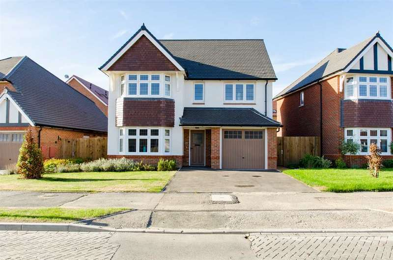 4 Bedrooms Detached House for sale in Vellum Drive, Sittingbourne