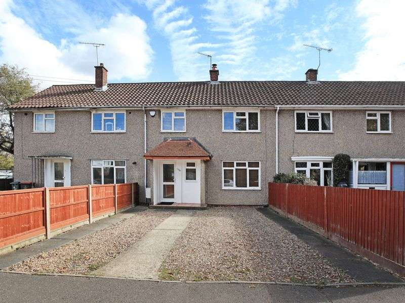 3 Bedrooms Terraced House for sale in Woodfield Road, Northgate, Crawley, West Sussex