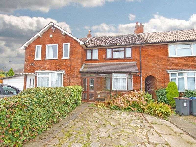 3 Bedrooms Terraced House for sale in Redhill Road, West Heath. Birmingham.
