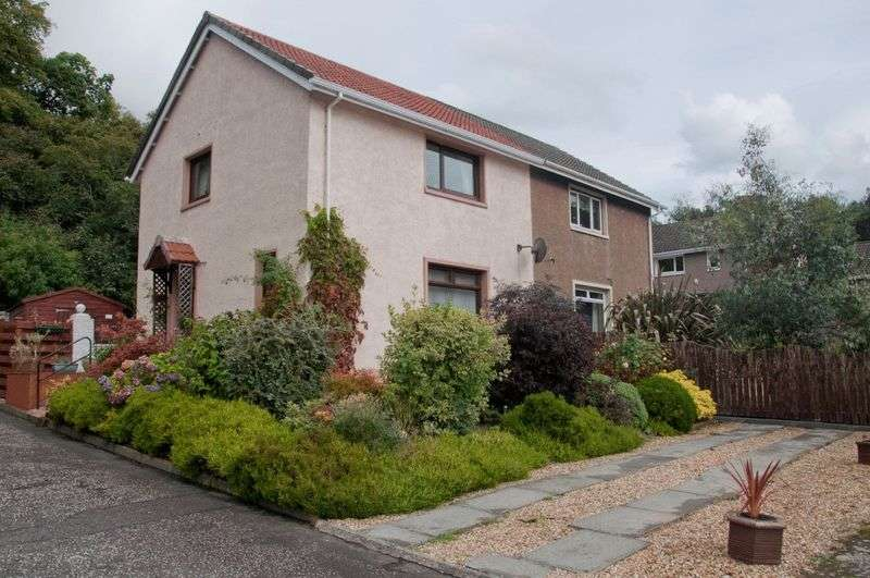 2 Bedrooms Semi Detached House for sale in Woodlea, Kincardine