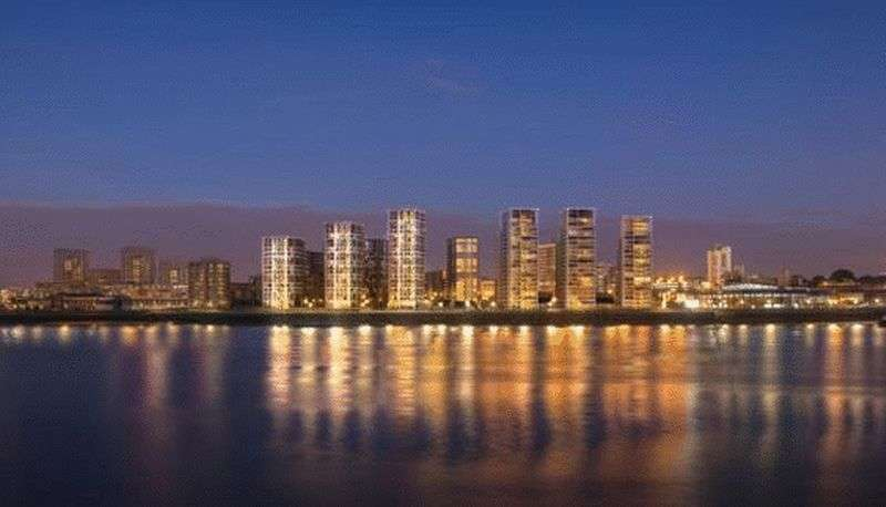 2 Bedrooms Flat for sale in Waterfront I, Royal Arsenal Riverside, Woolwich, London SE18
