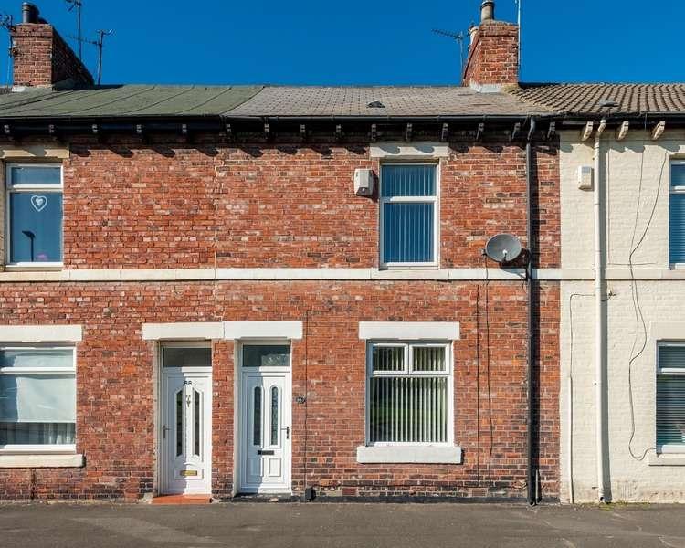 2 Bedrooms Terraced House for sale in Glen Street, Hebburn, Tyne and Wear, NE31