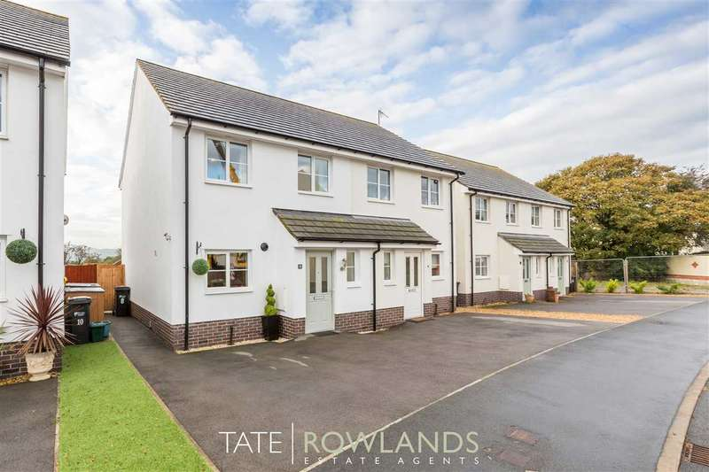 3 Bedrooms Semi Detached House for sale in Maes Y Goron, Lixwm