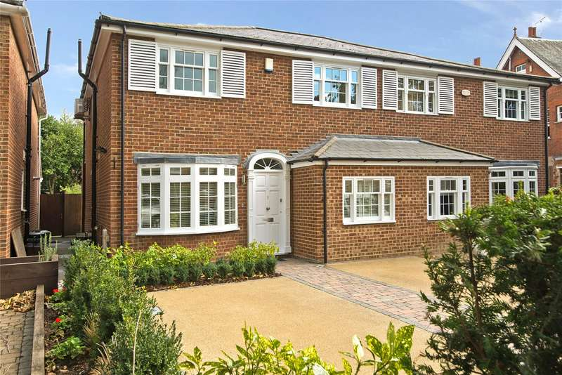 4 Bedrooms Semi Detached House for sale in The Drive, Wimbledon, London, SW20