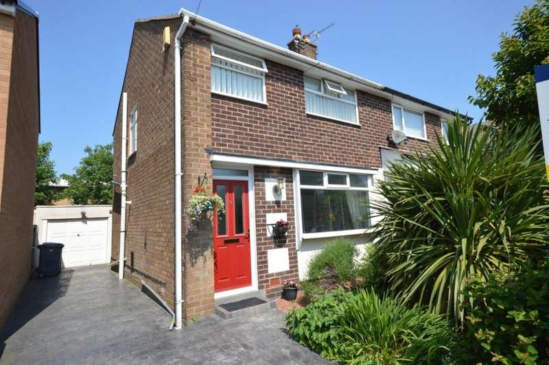2 Bedrooms Semi Detached House for sale in Holbeck Avenue, Marton