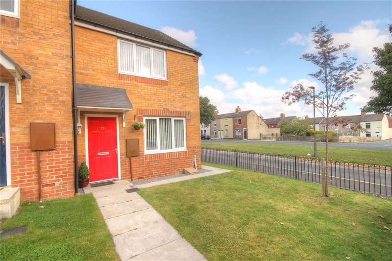 2 Bedrooms Semi Detached House for sale in Stephenson Court, Shildon, Co Durham, DL4