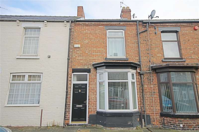 2 Bedrooms Terraced House for sale in Westgarth Terrace, Darlington, County Durham, DL1
