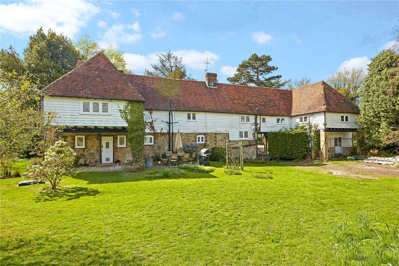 5 Bedrooms Detached House for sale in Tonbridge Road, Ightham, Sevenoaks, Kent, TN15
