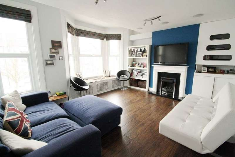 2 Bedrooms Flat for sale in Burrows Road, Kensal Rise NW10