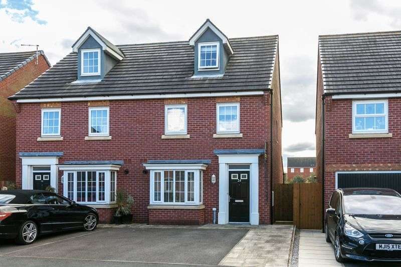 3 Bedrooms Semi Detached House for sale in Clydesdale Drive, Chorley, PR7 3DN