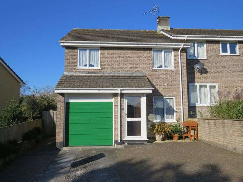 3 Bedrooms Semi Detached House for sale in Grampound Road, Truro