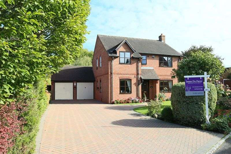 4 Bedrooms Detached House for sale in Swan Court, Church Eaton, Stafford