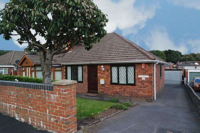 2 Bedrooms Semi Detached Bungalow for sale in Coupe Drive, Weston Coyney, Stoke-On-Trent, ST3 5HR