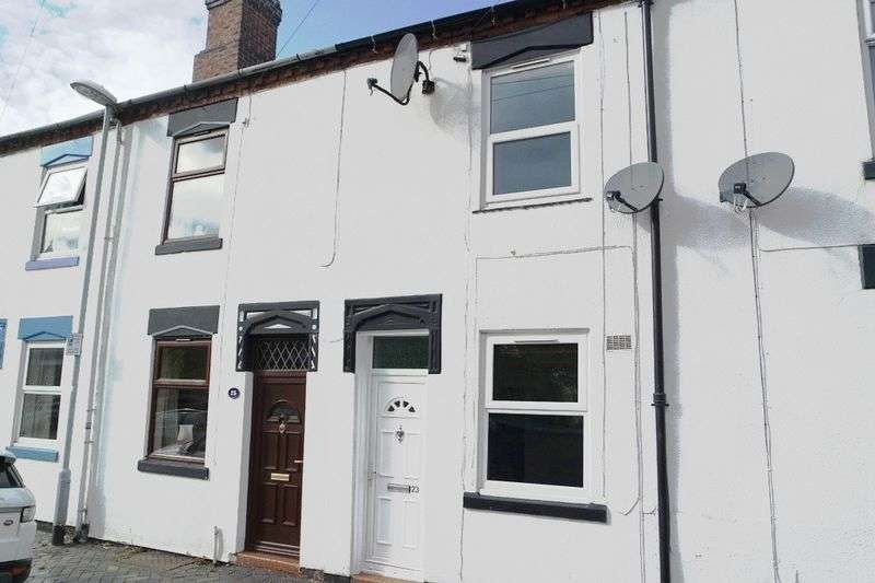 2 Bedrooms Terraced House for sale in Cliveden Place, Longton, Stoke-On-Trent, ST3 4JB