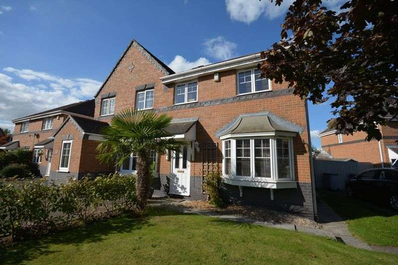 3 Bedrooms Semi Detached House for sale in Bennett Close, Crewe