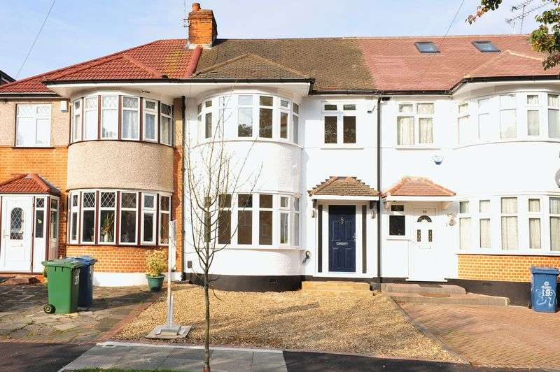 3 Bedrooms Terraced House for sale in Durley Avenue, Pinner
