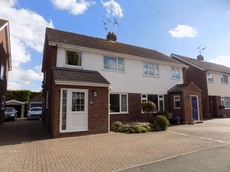 4 Bedrooms Semi Detached House for sale in Four bedrooms, three of which are double, 22'7 sitting room, 14'9 garden room, ground floor cloakroom and garage, just some of the features of this de