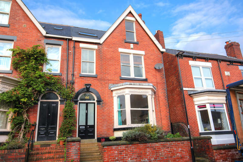 4 Bedrooms Semi Detached House for sale in 66 Peveril Road, Endcliffe Park, S11 7AR