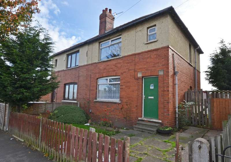 3 Bedrooms Semi Detached House for sale in Irwin Avenue, Eastmoor, Wakefield