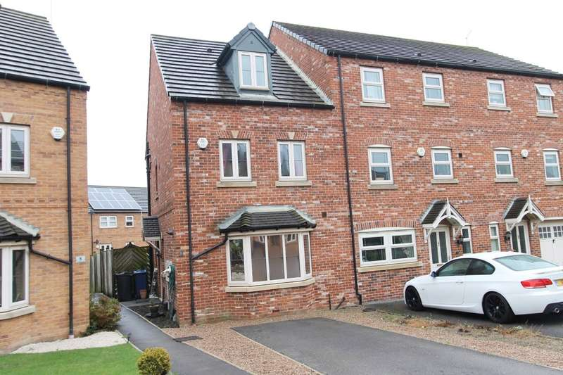 4 Bedrooms Town House for sale in Nettlecroft, Monk Bretton, Barnsley, S71 5SD