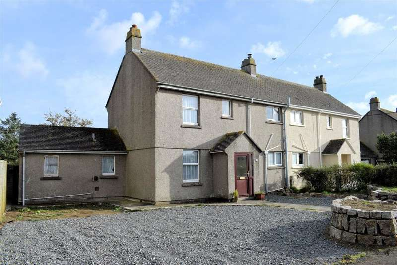 3 Bedrooms Semi Detached House for sale in Clifden Close, Mullion, Near Helston