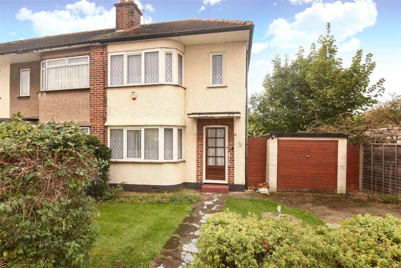 2 Bedrooms End Of Terrace House for sale in Manningtree Road, South Ruislip, Middlesex, HA4