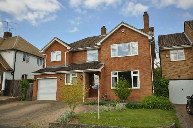 4 Bedrooms Detached House for sale in Andrews Road, Earley, Reading