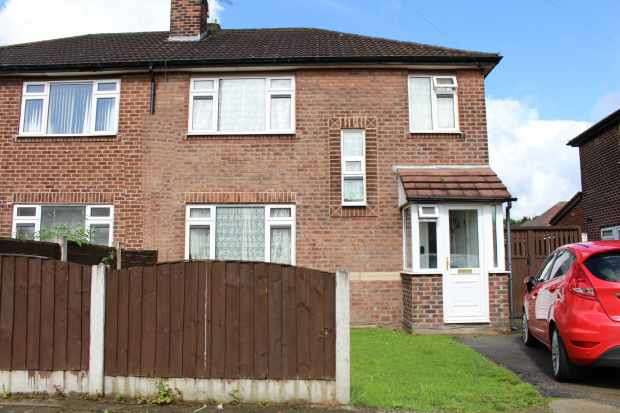 4 Bedrooms Semi Detached House for sale in Leyburn Ave, Manchester, Lancashire, M41 6HL