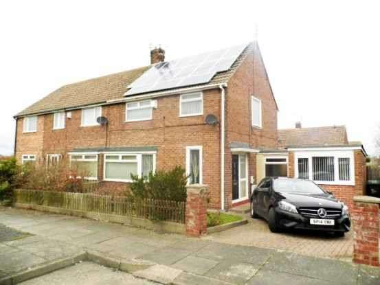 3 Bedrooms Semi Detached House for sale in Wettondale Avenue, Blyth, Northumberland, NE24 4EA