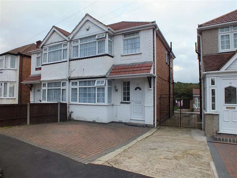 3 Bedrooms Semi Detached House for sale in Roseville Road, Hayes, , UB3 4QX