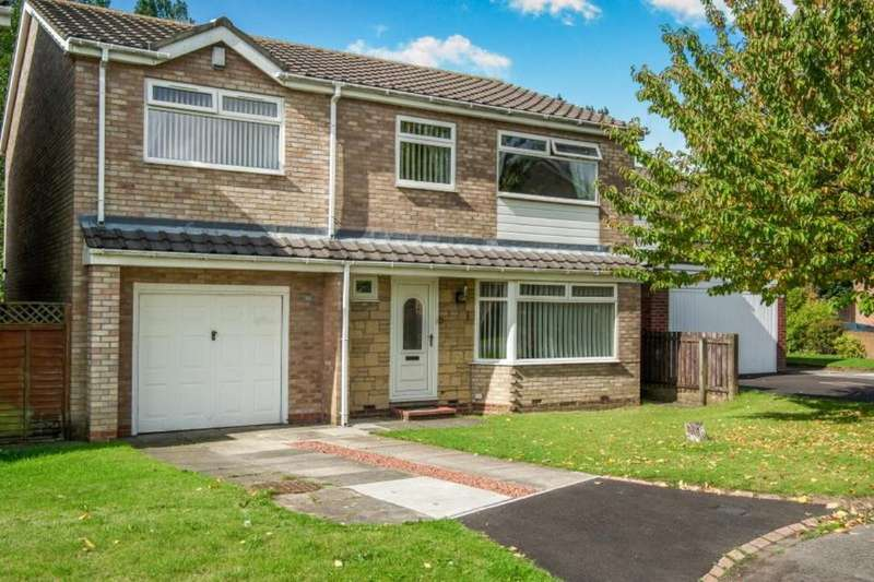 4 Bedrooms Detached House for sale in Aysgarth Avenue, Wallsend, NE28
