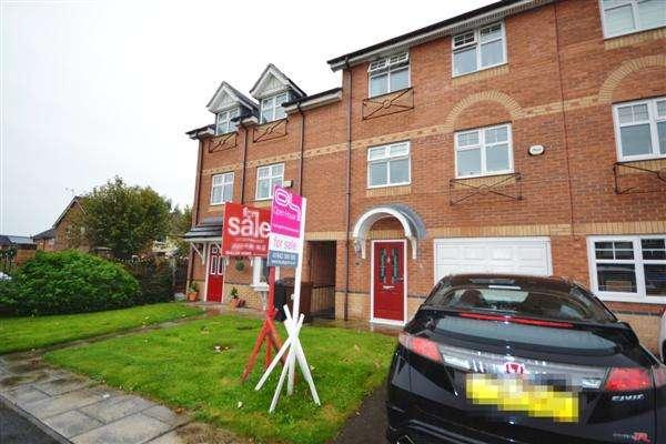 3 Bedrooms Town House for sale in Waterford Close, Platt Bridge, Wigan