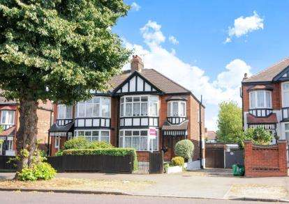 4 Bedrooms Semi Detached House for sale in Hermon Hill, South Woodford, London