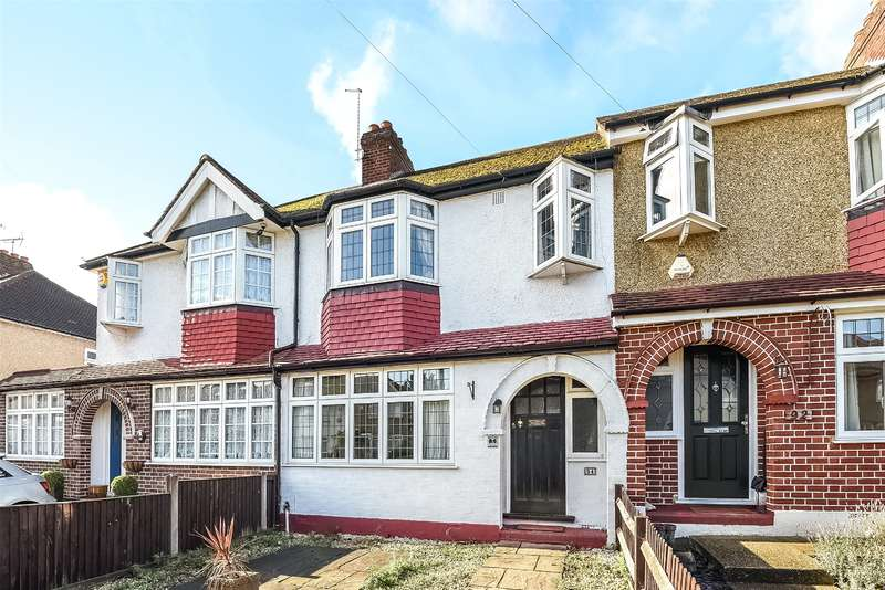 3 Bedrooms Terraced House for sale in Royal Crescent, South Ruislip, Middlesex, HA4