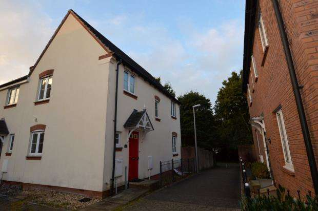 3 Bedrooms Semi Detached House for sale in Hawks Drive, Tiverton, Devon