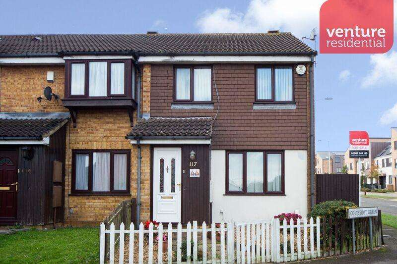 3 Bedrooms End Of Terrace House for sale in Coltsfoot Green, Luton, Bedfordshire, LU4 0XT