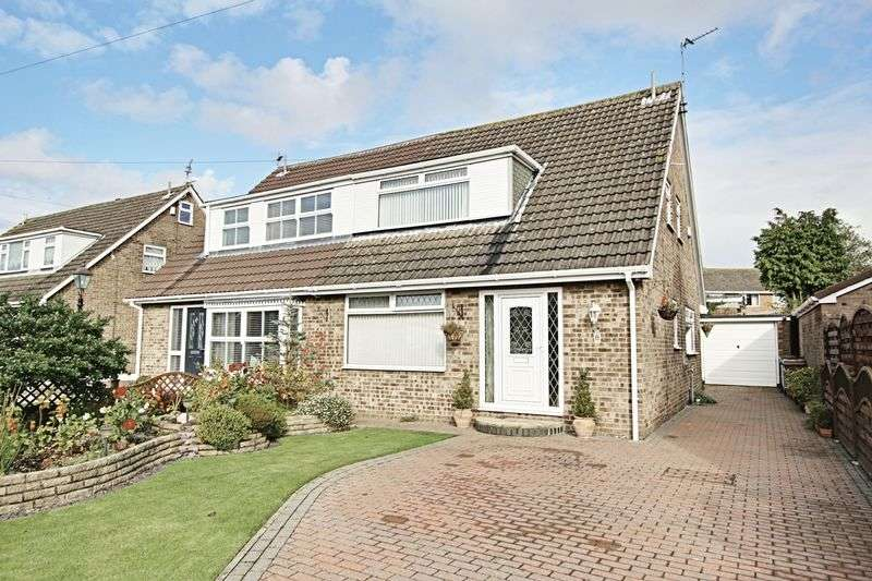 3 Bedrooms Semi Detached House for sale in Hall Road, Sproatley