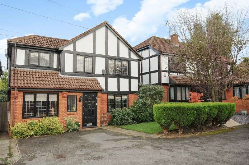4 Bedrooms House for sale in Albany Close, Bushey, WD23